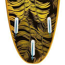 Foam surfboard 7' 100. Geleverd met een leash en 3 vinnen.