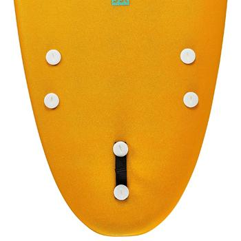 Planche de surf en mousse 100 7'. Livrée avec leash et ailerons. - 1313341