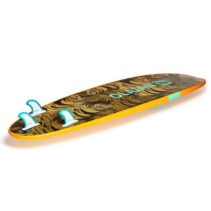 Planche de surf en mousse 100 7'. Livrée avec leash et ailerons. - 1313343