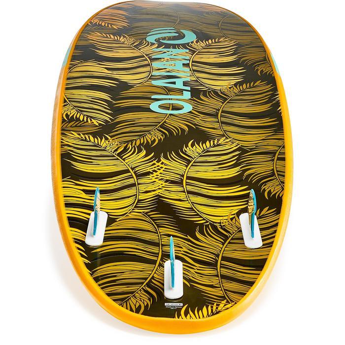 Planche de surf en mousse 100 7'. Livrée avec leash et ailerons. - 1313344