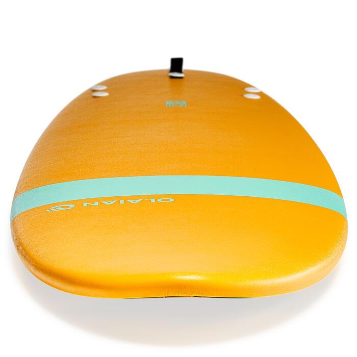 Planche de surf en mousse 100 7'. Livrée avec leash et ailerons. - 1313347