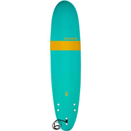 Пінна дошка для серфінгу 100, 8' До комплекту входять лиш і 3 плавники.