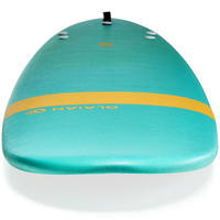 Foam Surfboard 100 8'. Supplied with 1 leash and 3 fins.