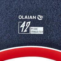 "Bodyboard 900 bleu Gabarit 1m70-1m85 42"" polypropylène stringer + leash"