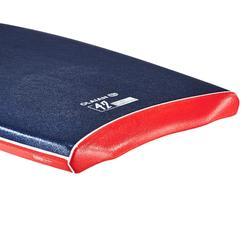 "900 Bodyboard 42"" User Height 1.70-1.85m Polypropylene Stringer + Leash - Blue"