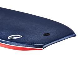 "Bodyboard 900 blauw personen 1m70-1m85 42"" polypropyleen stringer + leash"