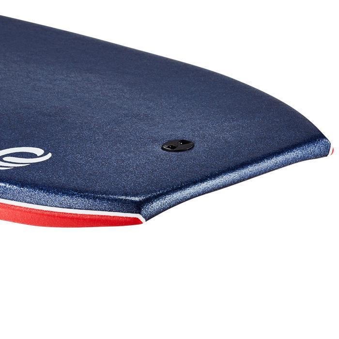 """Bodyboard 900 45"""" für Körpergröße >1,85 m Polypropylen-Stringer + Leash"""