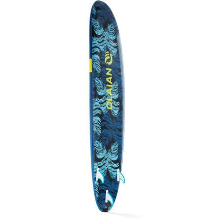 """Пінна дошка для серфінгу 100, 8'6"""" До комплекту входять лиш і три плавники."""