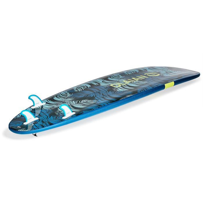 """Tabla de surf de espuma 8'6"""" 100.Se entrega con un leash y 3 quillas."""