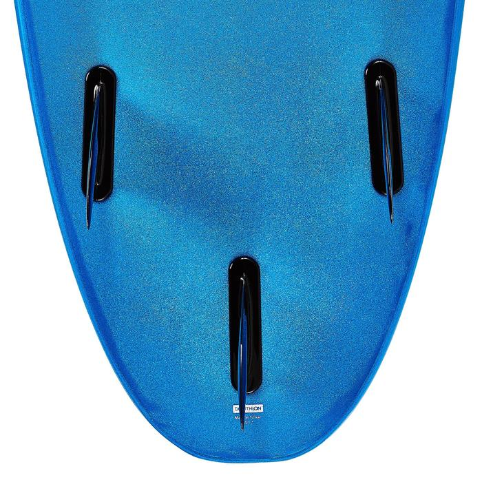 Tabla de surf de espuma 100 7'. Se entrega con un leash y 3 quillas.