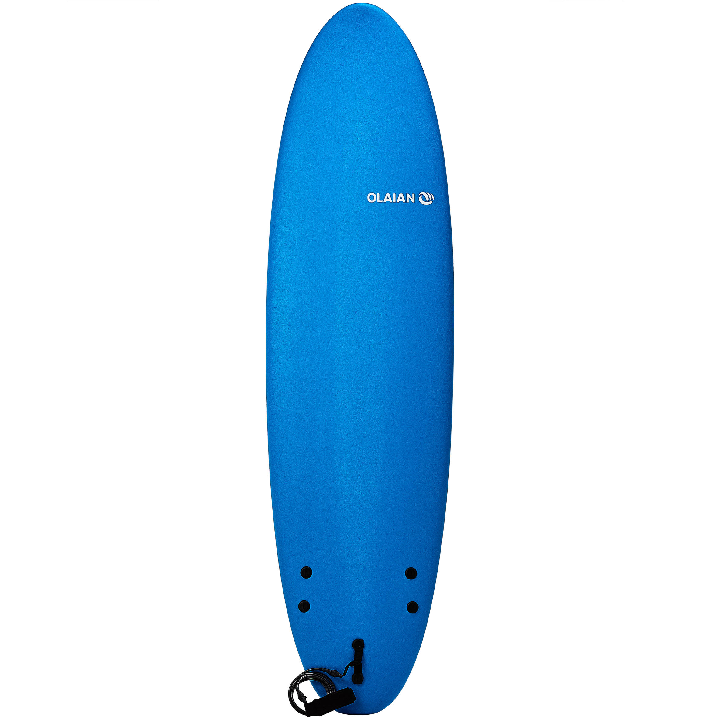 100 Foam Surfboard 7'. Supplied with a leash and 3 fins.