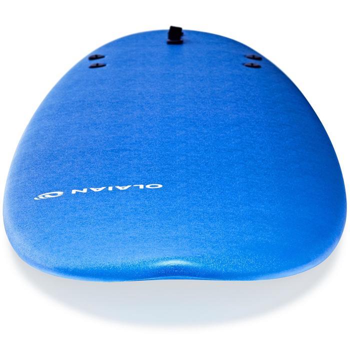 Foam surfboard 100 7'. Geleverd met een leash en 3 vinnen.