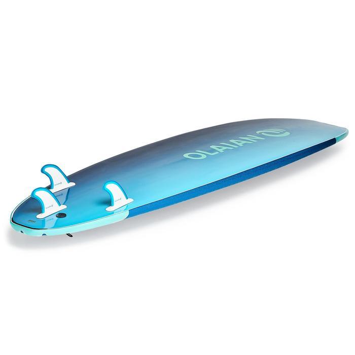 Planche de surf en mousse 500 7'. Livrée avec leash et ailerons. - 1313444