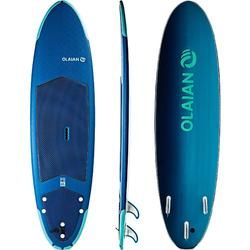 Tabla Surf Espuma Evolutiva Olaian 500 7' Niño Azul Turquesa Leash Quillas