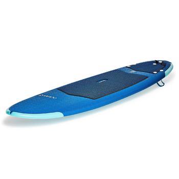 Tabla de surf de espuma 500 7'. Se entrega con un leash y alerones.
