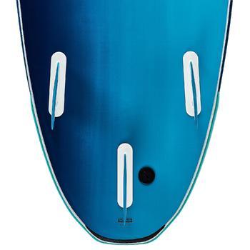 Planche de surf en mousse 500 7'. Livrée avec leash et ailerons.