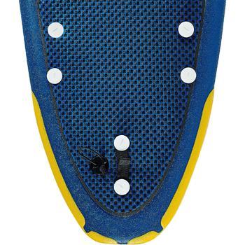 Planche de surf en mousse 500, 8'. Livrée avec un leash et 3 ailerons. - 1313474