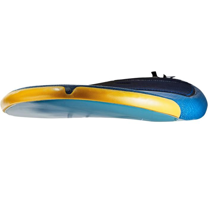 Planche de surf en mousse 500, 8'. Livrée avec un leash et 3 ailerons. - 1313481