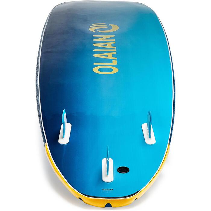 Planche de surf en mousse 500, 8'. Livrée avec un leash et 3 ailerons. - 1313482