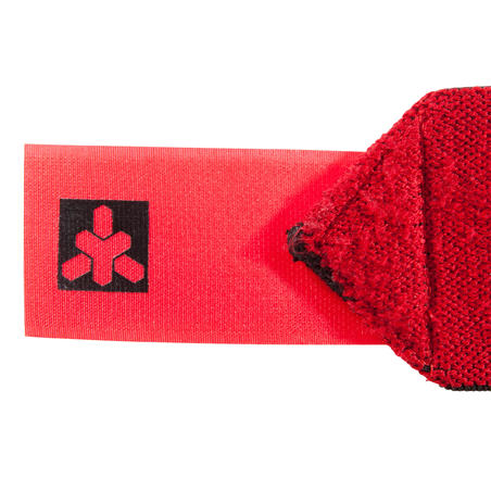 Weight Training Velcro Wrist Wraps - Red