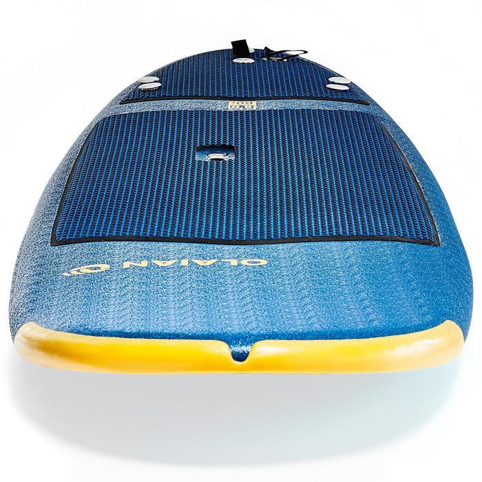 Planche de surf en mousse 500, 8'. Livrée avec un leash et 3 ailerons. - 1313503