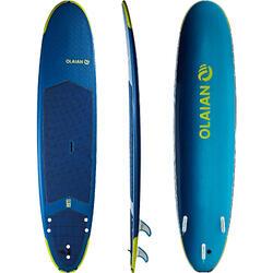 """Tabla de surf de espuma 8'6"""" 500.Se entrega con leash y 3 quillas."""