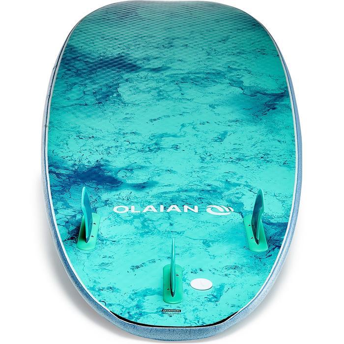 Planche de surf en mousse 900, 7' . Livrée avec 3 ailerons. - 1313554