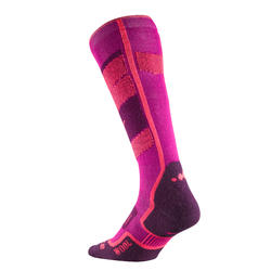 300 Adult Ski Socks - Pink