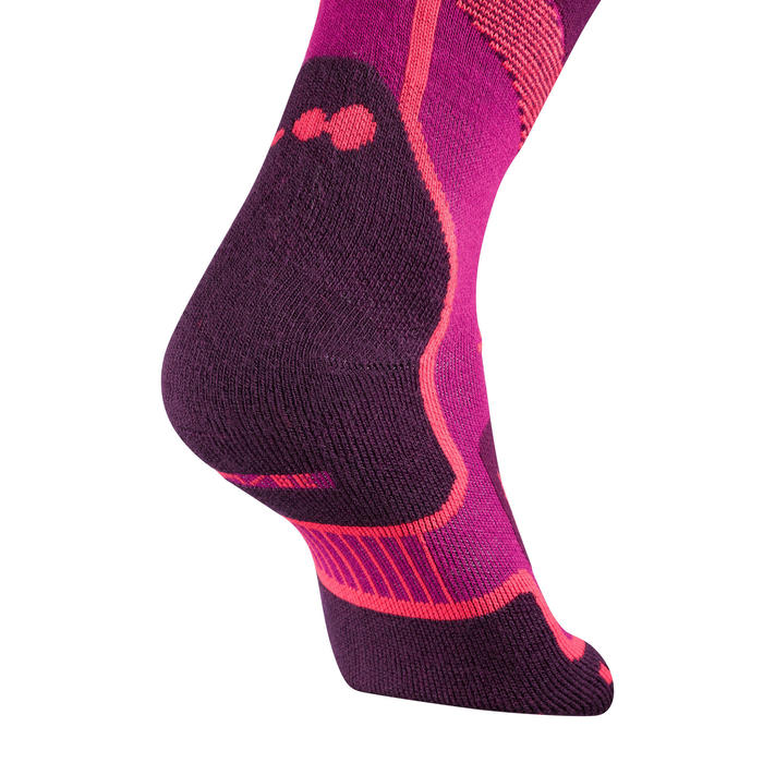 300 Adult Ski Socks - Pink