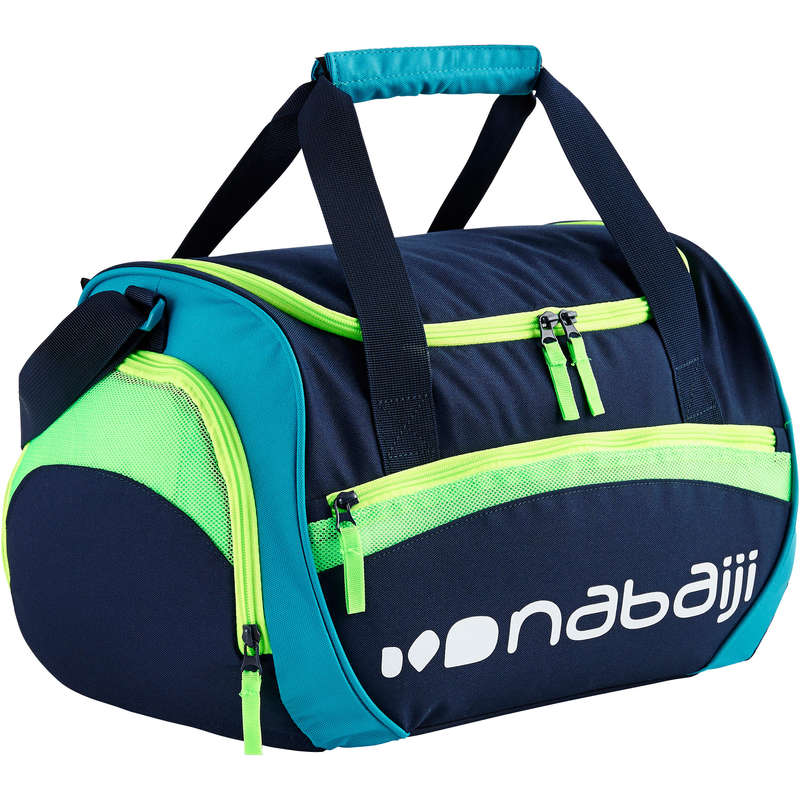 MATERIAL Swimming - 30L POOL BAG 500 - BLUE GREEN NABAIJI - Poolside Accessories