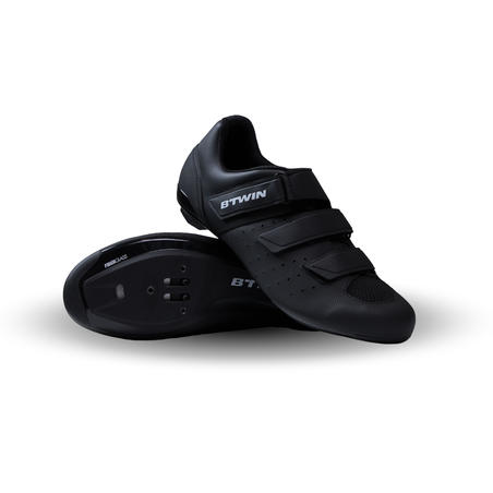 500 Sport Cycling Road Cycling Shoes - Black