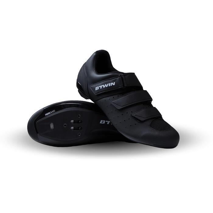 Fietsschoenen racefiets RoadRacing 500 zwart - 1313695