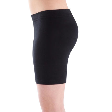 100 Gym Shorts - Black - Girls'
