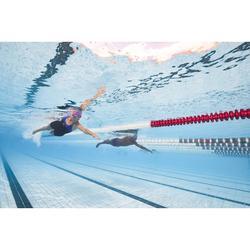 Maillot de bain de natation une pièce shorty femme résistant au chlore Leony