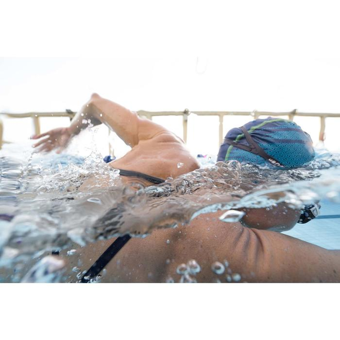 Uiterst chloorbestendig zwemtopje voor dames Jade jun oranje