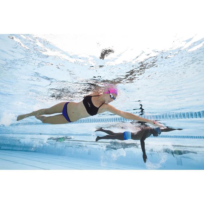 Bas de maillot de bain de natation femme résistant au chlore Jade violet noir