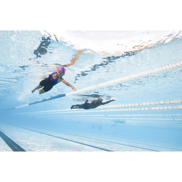 Maillot de bain de natation une pièce shorty femme résistant au chlore Leony - 1313818