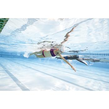 Sujetador-top de natación mujer ultra resistente al cloro Jade vib Rosa