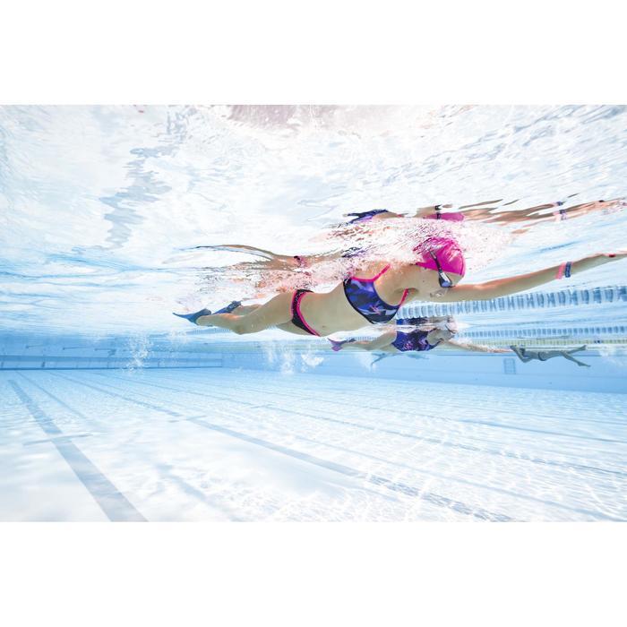 Sujetador-top de natación mujer ultra resistente al cloro Jade wing Rosa