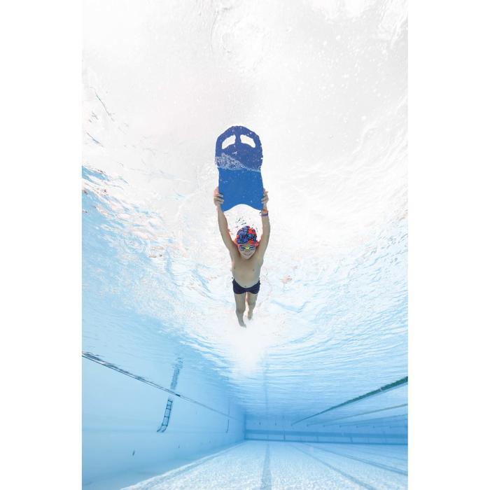 大型游泳浮板 - 藍色黑色