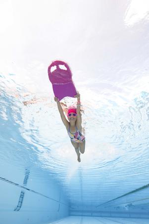 Lunettes de natation 100 XBASE Taille P rose