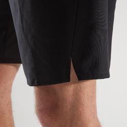 Short fitness cardio hombre FST500 negro