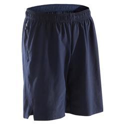 Fitnessshort cardio heren marineblauw FST500