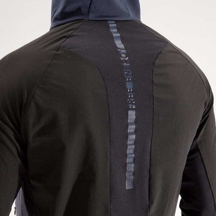 Veste fitness cardio homme gris noir FVE900 - 1313989