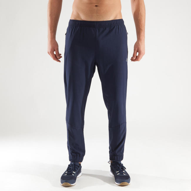 Men's Regular-Fit Rapid Dry Stretchable Fitness Pant - Navy