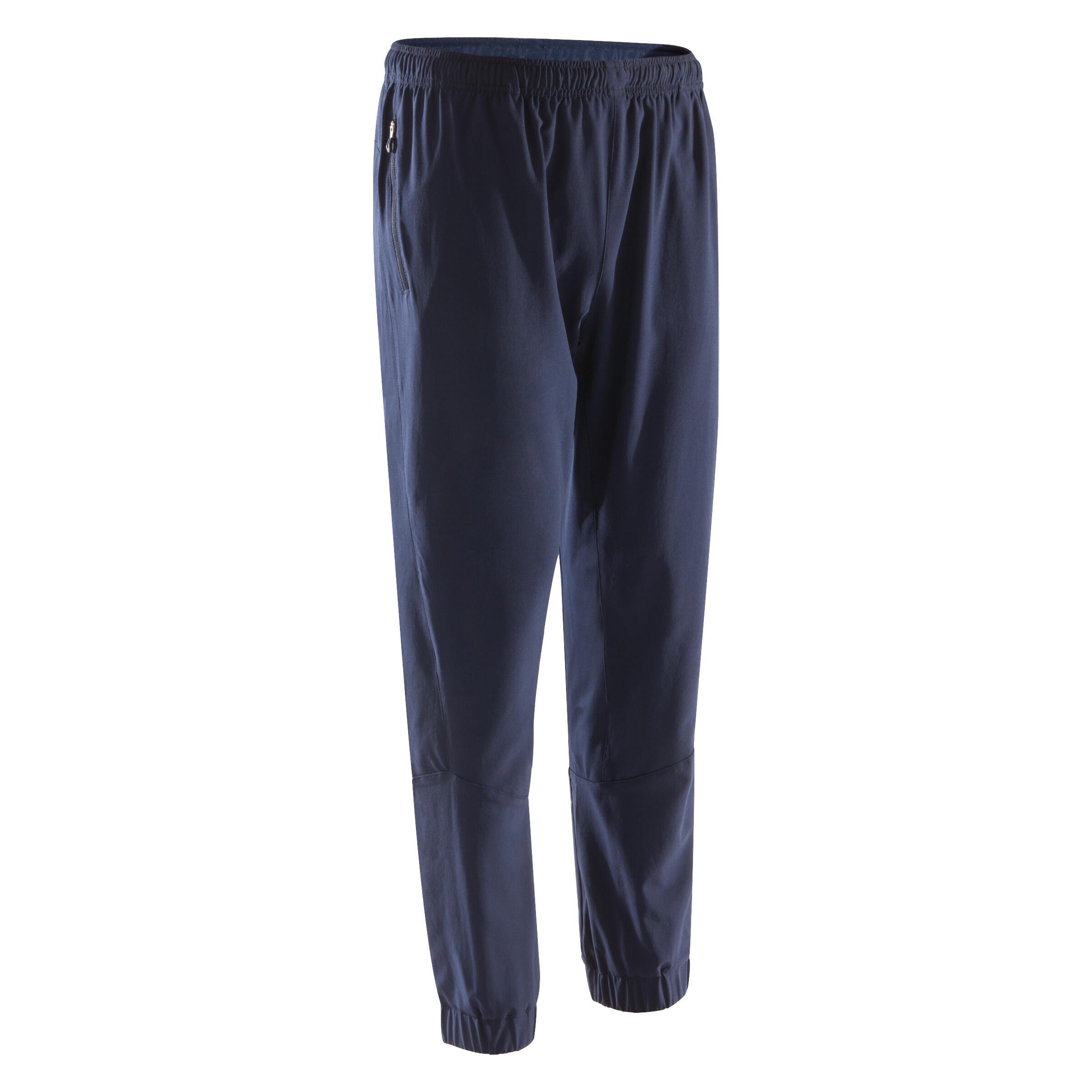Pants fitness cardio hombre azul marino FPA500