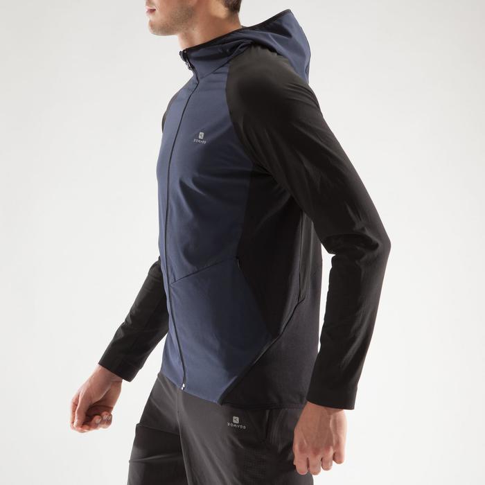 Veste fitness cardio homme gris noir FVE900 - 1314044
