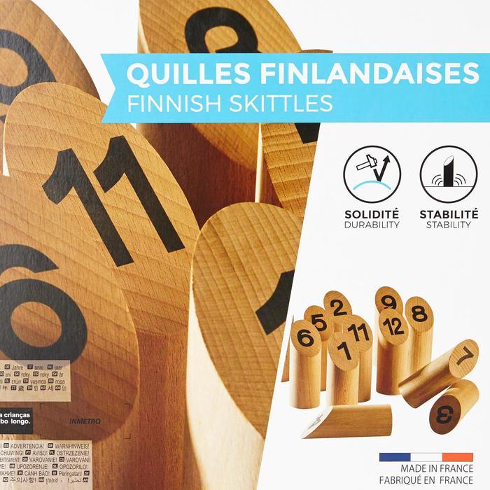 Fins kegelspel in standaardformaat