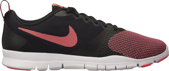 Fitnessschoenen Nike Flex Essential voor dames zwart en roze