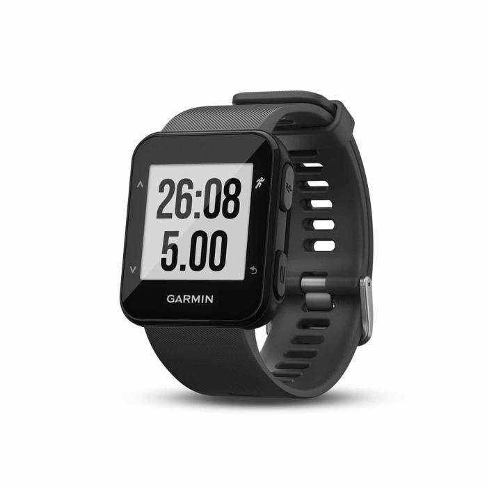Gps-horloge met hartslagmeting aan de pols Forerunner 30 zwart - 1314192
